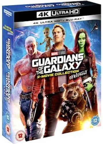 Guardians Of The Galaxy / Gardians Of The Galaxy Volume 2 4K Ultra HD + Blu-Ray (import)