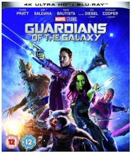 Guardians Of The Galaxy 4K Ultra HD + Blu-Ray