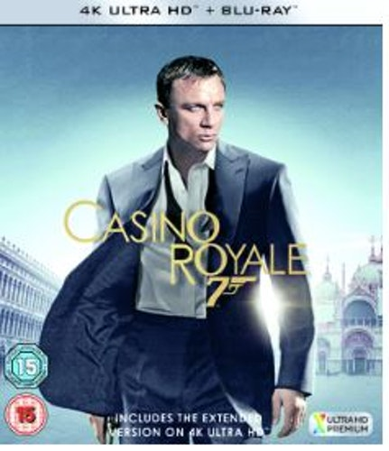 007 Bond - Casino Royale 4K Ultra HD + Blu-Ray (import)