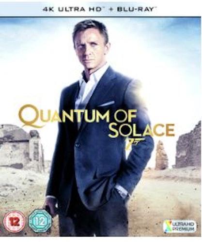 007 Bond - Quantum Of Solace 4K Ultra HD + Blu-Ray (import)