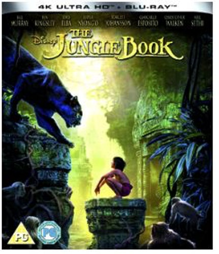 Jungle Book (Live Action) 4K Ultra HD (import)
