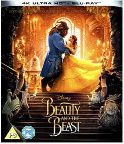 Beauty & The Beast (Live Action) 4K Ultra HD (import)
