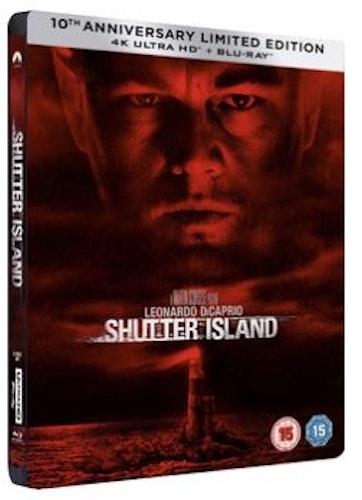 Shutter Island Steelbook 4K Ultra HD + Blu-Ray (import)