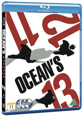Ocean's Box 11-13 bluray