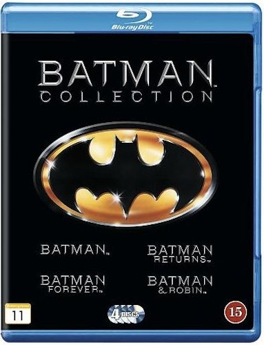 Batman Collection bluray