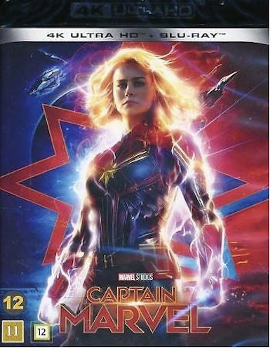 Captain Marvel 4K (UHD+BD)