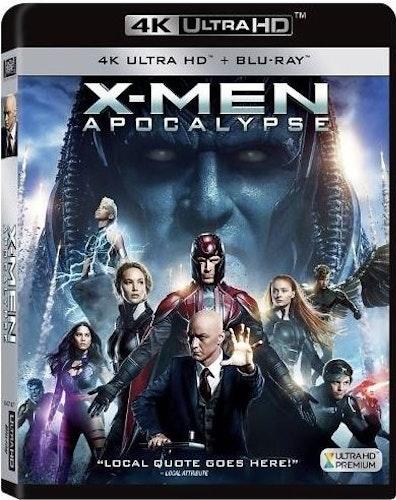 X-Men: Apocalypse 4K (UHD+BD)