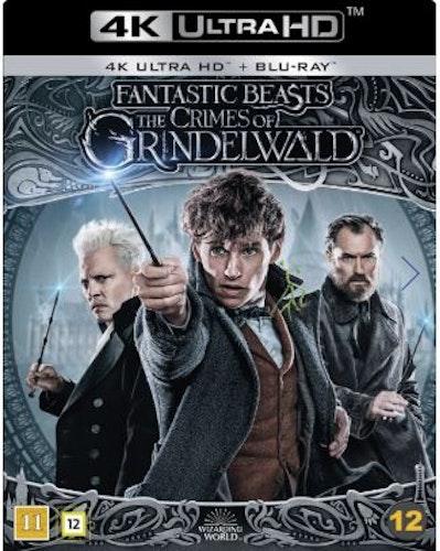 Fantastiska Vidunder: Grindelwalds Brott 4K (UHD+BD)