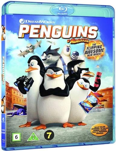 Pingvinerna från Madagaskar bluray