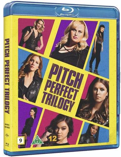 Pitch Perfect 1-3 bluray