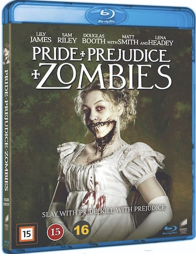 Pride and Prejudice and Zombies bluray