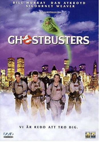 Ghostbusters DVD beg