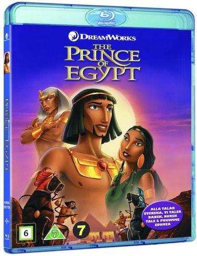 Prinsen Av Egypten bluray