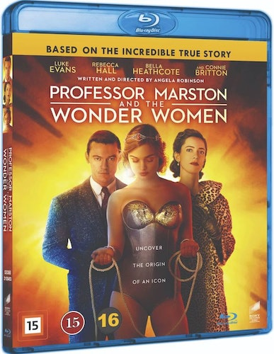 Professor Marston and the Wonder Women bluray
