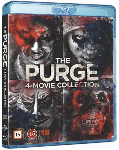 The Purge - 4-Movie Collection bluray