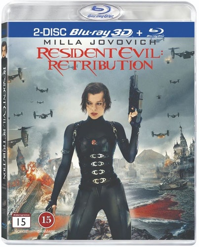 Resident Evil: Retribution 3D Bluray