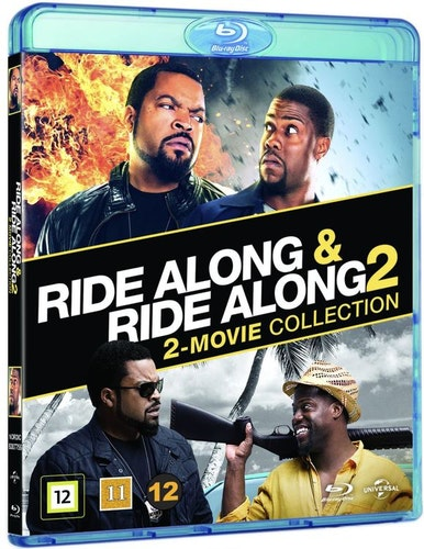 Ride Along 1 + 2 bluray