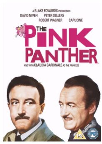Rosa Pantern DVD 1964 (import med Sv text)