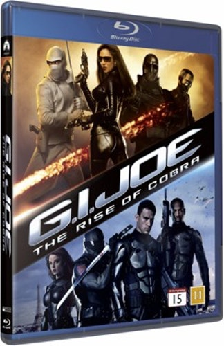 G.I. Joe: The Rise of Cobra bluray