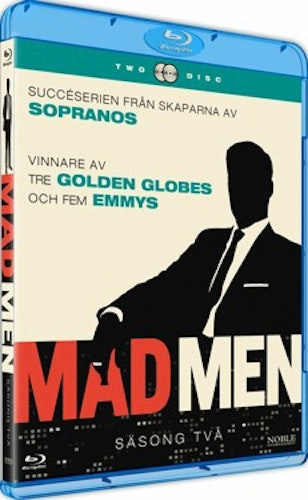 Mad Men - Säsong 2 bluray