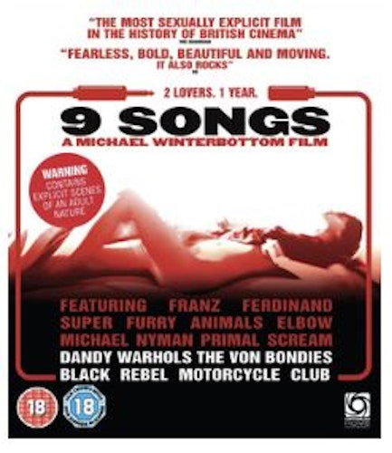 9 Songs Blu-Ray (import)
