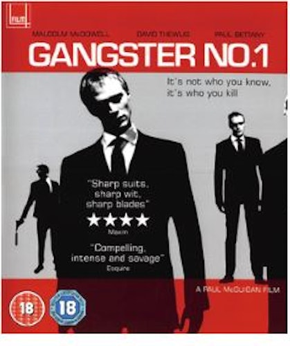 Gangster No 1 bluray (import)