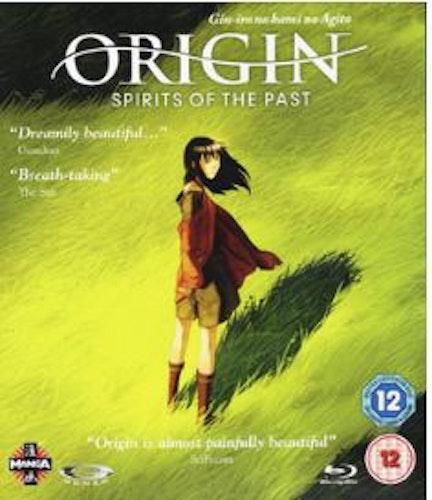 Origin Spirits Of The Past - The Movie bluray (import)