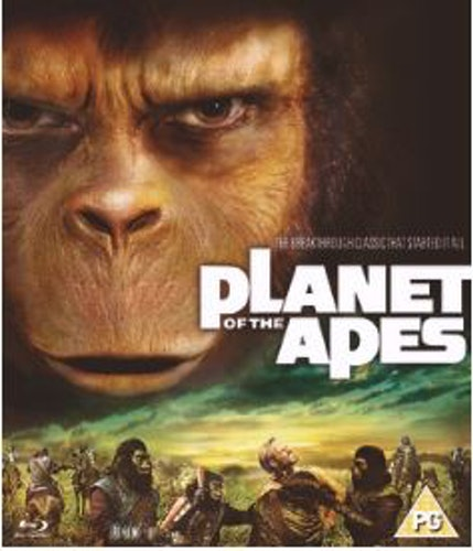 Planet Of The Apes (Original) 1968 Blu-Ray (import Sv text)