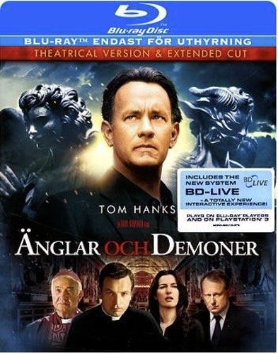 Änglar & demoner bluray (import)
