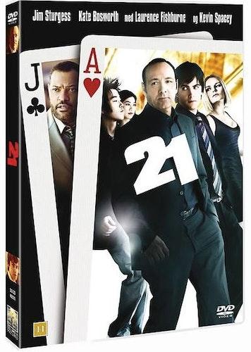 21 DVD (ny men ej inplastad)