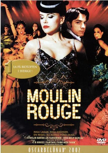 Moulin Rouge! DVD (beg)