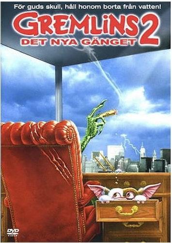 Gremlins 2: Det Nya Gänget DVD (beg)