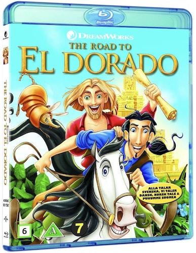 Vägen Till El Dorado bluray