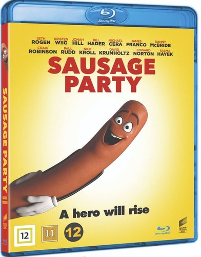 Sausage Party bluray UTGÅENDE