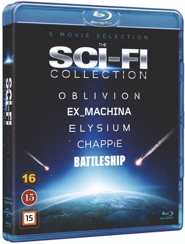 Sci-Fi Box bluray