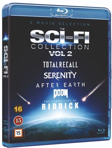 The Sci-Fi Collection - Vol. 2 bluray