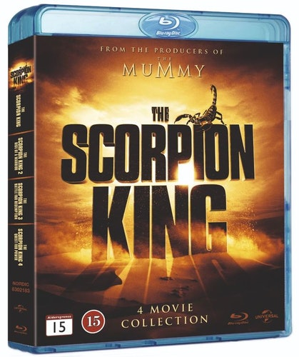 Scorpion King - 1-4 Box bluray