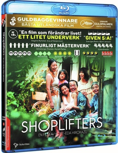 Shoplifters bluray