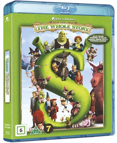 Shrek 1-4 bluray