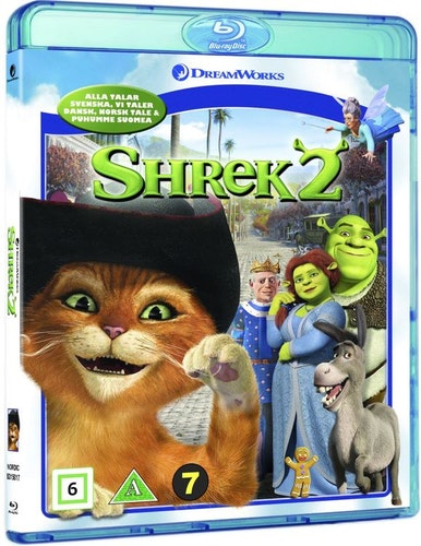 Shrek 2 bluray