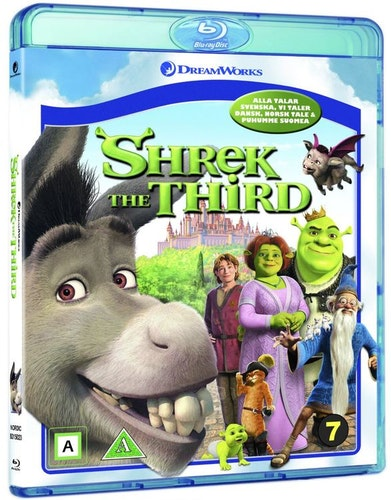 Shrek den Tredje bluray