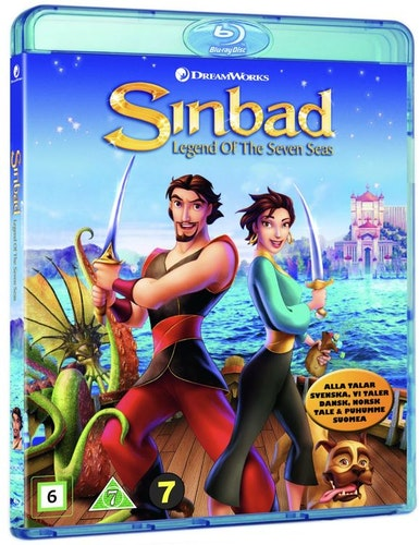 Sinbad: Legenden om de sju haven bluray
