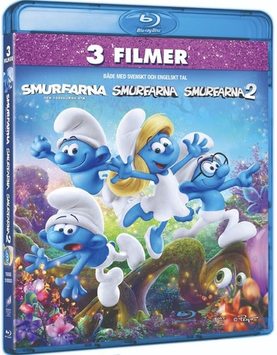 Smurfarna 1-3 (Blu-ray)