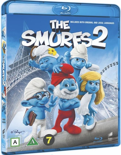Smurfarna 2 bluray