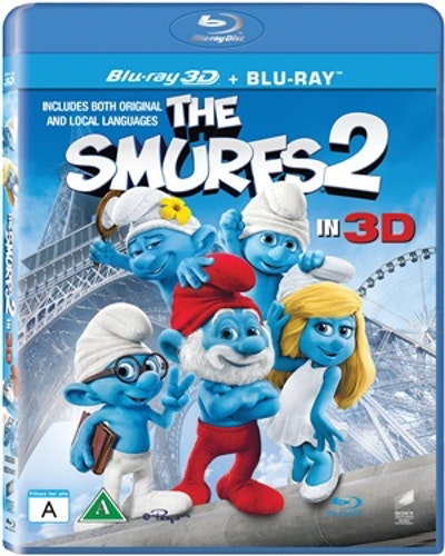 Smurfarna 2 3D bluray