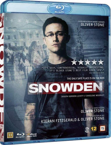 Snowden bluray