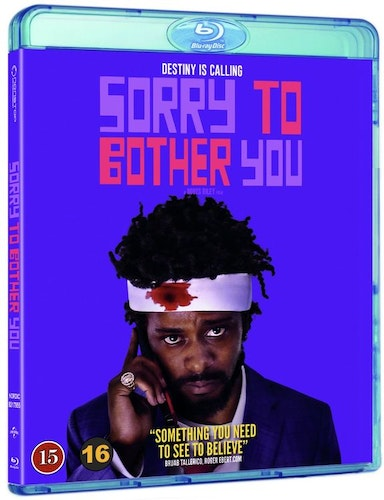 Sorry to Bother You bluray