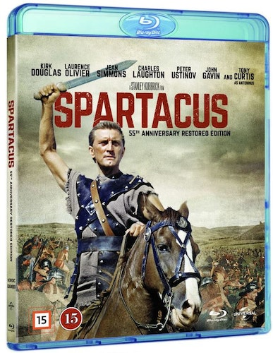 Spartacus - 55th Anniversary Restored Edition bluray