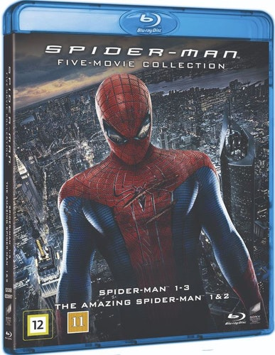 Spider-Man - Five-Movie Collection bluray
