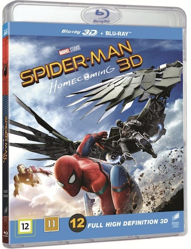 Spider-Man: Homecoming (3D) bluray
